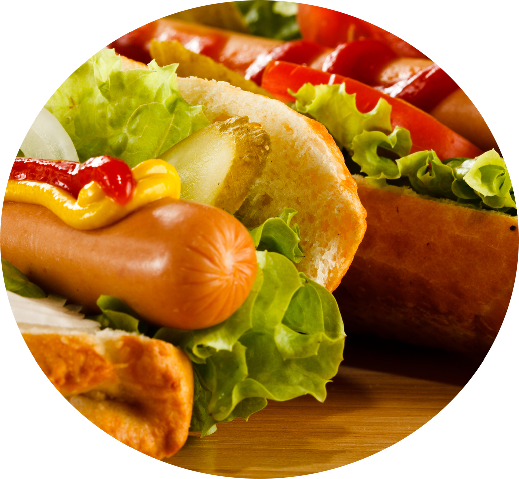 sausages in bun